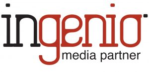 Ingenio New nero-rosso media partner