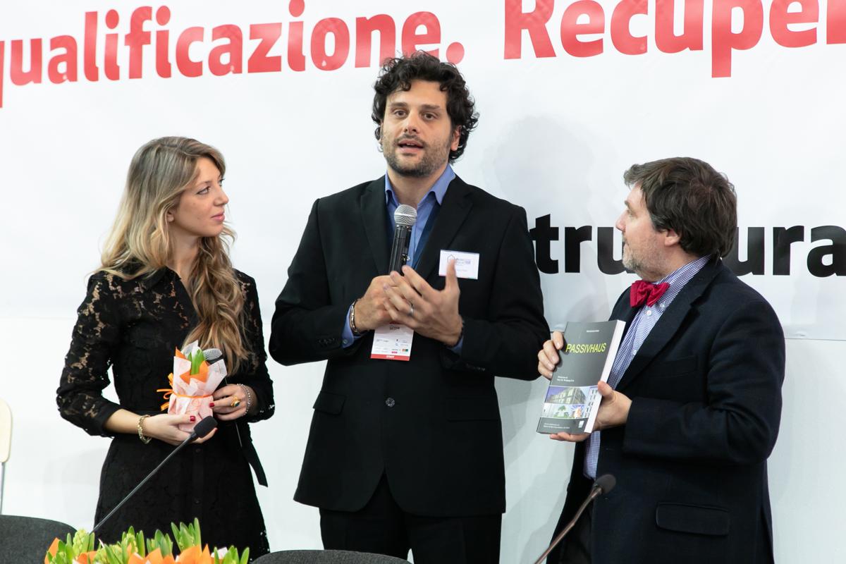 Francesco Nesi il direttore di ZEPHIR insieme a Luca Mercalli climatologo e Deborah Annolino moderatrice